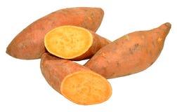 Patate dolci organiche Fotografie Stock Libere da Diritti