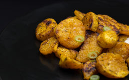 Patate dolci organiche Fotografia Stock Libera da Diritti