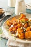 Patate douce cuite faite maison photos stock