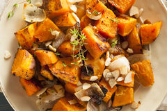 Patate douce cuite faite maison photographie stock