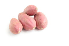 Patate douce, 4 morceaux Images stock