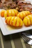 Patate e carota Immagine Stock