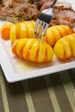 Patate e carote Fotografie Stock Libere da Diritti