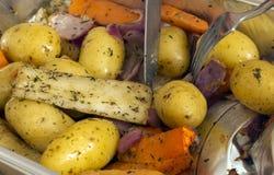 Patate e pastinache Fotografia Stock Libera da Diritti