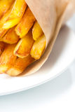 Patate fritte Fotografie Stock Libere da Diritti
