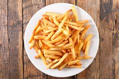 Patate fritte fritte immagine stock