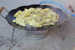 Patate fritte Fotografia Stock Libera da Diritti