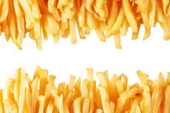Patate fritte fotografia stock