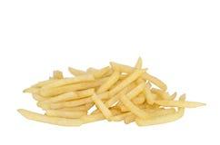 Patate fritte con il percorso di residuo della potatura meccanica Immagini Stock Libere da Diritti