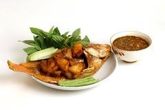 Patate fritte del pesce Fotografie Stock