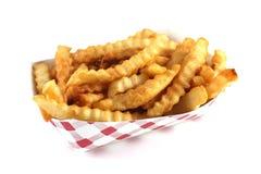 Patate fritte dello studio Fotografie Stock
