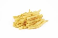 Patate fritte isolate Fotografia Stock