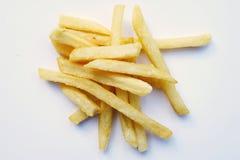 Patate fritte isolate su fondo bianco immagini stock libere da diritti