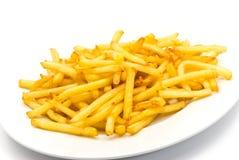 Patate fritte nella zolla Fotografia Stock Libera da Diritti