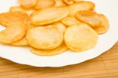 Patate fritte, patatine fritte Immagini Stock