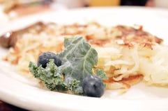 Patate grattugiate/in padella fresche Immagine Stock Libera da Diritti