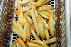 Patate o patate fritte fritte Fotografia Stock Libera da Diritti