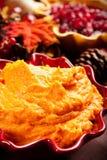 Patates douces écrasées Photographie stock libre de droits