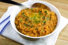 Patates douces écrasées par thanksgiving Photo stock