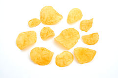Patatine fritte Fotografie Stock