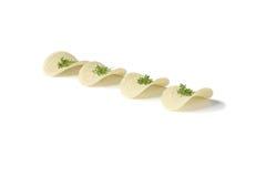 Patatine fritte con le erbe Fotografia Stock