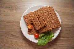 Patatine fritte con spinaci Immagine Stock