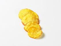 Patatine fritte croccanti Fotografie Stock Libere da Diritti