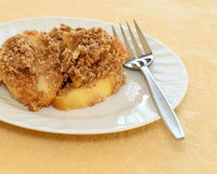 Patatine fritte del Apple fotografia stock libera da diritti
