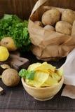 Patatine fritte naturali immagine stock libera da diritti