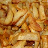 Patatoes Roasted Imagens de Stock