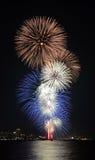 Pataya fireworks Stock Photo