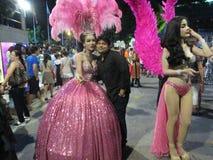 Patayya utelivdans och mig Arkivfoton