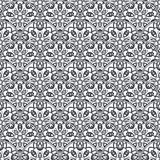 Patch Boho Flower Seamless Pattern. Mandala patchwork, oriental design. Wallpaper, furniture textile, fabric print, tile deco. Vector background Royalty Free Stock Image
