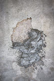 Patch of concrete Royalty Free Stock Images
