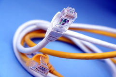 Patch cord. Category 6 stock photography