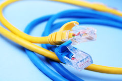 Patch cord Stock Images
