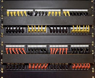 Free Patch Cord Panel Royalty Free Stock Photography - 14463727