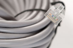 Patch cord Stock Photos