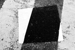 Patch on a crosswalk Stock Photos