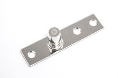 Patch Fittings for door glass Royalty Free Stock Photos