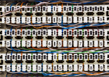 Patch panel Stock Images