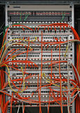 Patch panel Stock Photography