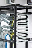 Patch panel Royalty Free Stock Images