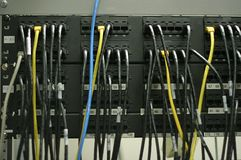 Patch Panels Royalty Free Stock Image