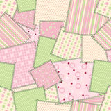 Patch seamless pattern. Vector. Illustration Stock Photos
