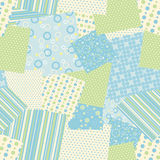 Patch seamless pattern. Vector Stock Images