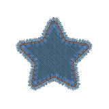 Patch Star Shape Royalty Free Stock Images