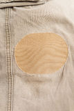 Patch on the trousers Royalty Free Stock Photos