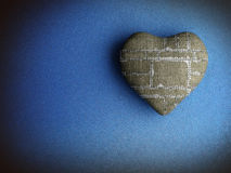Patched heart Stock Photography