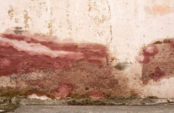 Patched Wall. Plastered wall on a city street royalty free stock photo